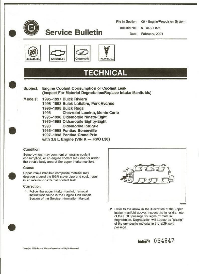 Buick Lesabre Timing Chain V6 Valve Marks