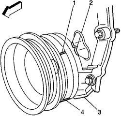 power steering pump seal kit Chevy Truck Power Steering Pump fig use the correct installation tool when replacing the rear seal