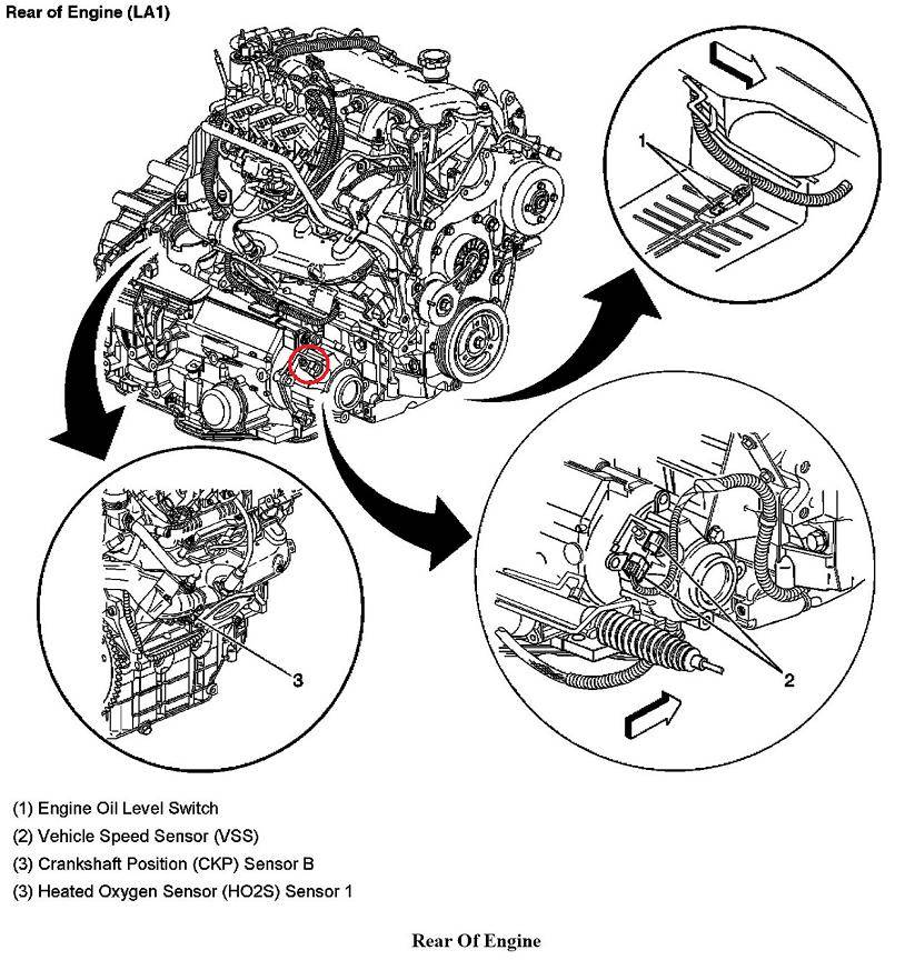 Buick Rendezvous O2 Sensor Location wiring diagrams image free